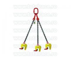 Dispozitiv tip cleste pentru ridicare / manevrarea tuburilor din beton Total Race