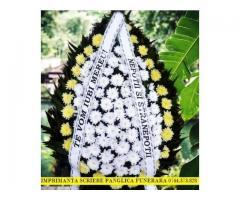 Sistem scriere panglici lente pentru jerbele de flori, coroane si buchete de flori.