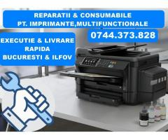 Reparatii imprimante Epson EcoTank cu CISS integrat, in Bucuresti si Ilfov.