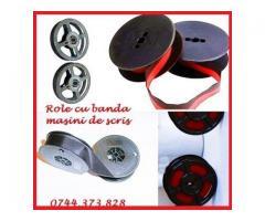 Role tusate masini de scris de culoare bicolora sau monocroma cu livrare rapida 0744373828.