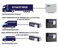 Casete tusate si role hartie Transcan, Tkdl, Thermo King, Touchprint,  Datacold Carrier, Esco, Termo