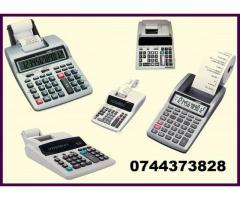 Role tus calculatoare de birou si masini de calcul tip: Canon, Casio, Epson, Seiko, Citizen, Brother