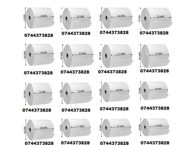 Role hartie imprimante termice si matriciale in orice tipodimensiune.