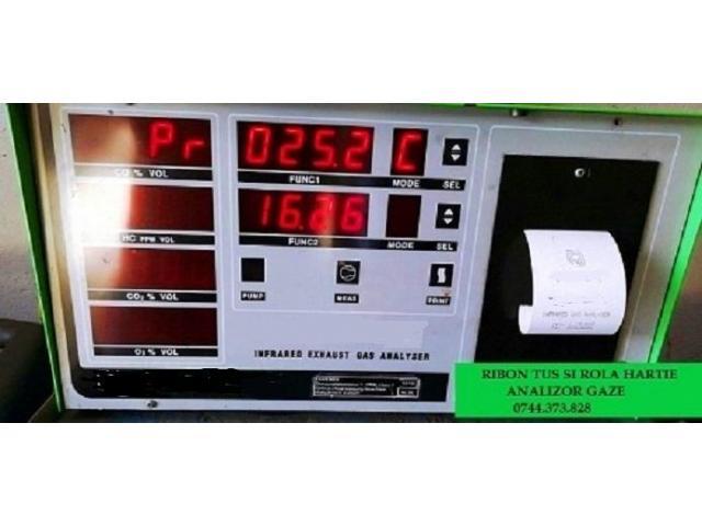 Benzi tus si role hartie analizoare gaze si noxe, imprimante statii ITP.