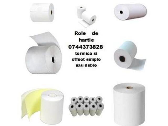 Role hartie imprimante autoclav