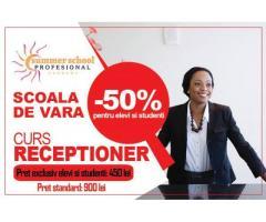 Curs Receptioner - oferta pentru studenti si elevi