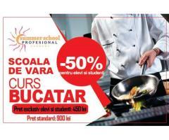 Curs Bucatar - oferta speciala pentru elevi si studenti