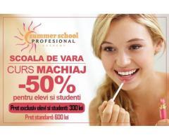 Curs Make-up - Machiaj - promotie pentru elevi si studenti
