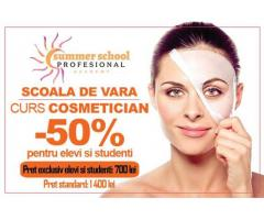 Curs Cosmetician - promotie pentru elevi si studenti