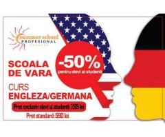 Curs Limba Germana - oferta speciala pentru elevi si studenti