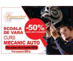 Curs Mecanic Auto - oferta speciala pentru elevi si studenti