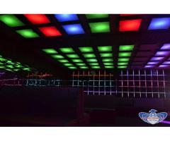 Decoratiuni Club Perne Tapitate Cu Led RGB Predescu Rebel Design