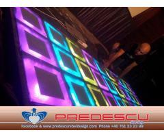 Ring Dans LED Disco Club . Predescu Rebel Design