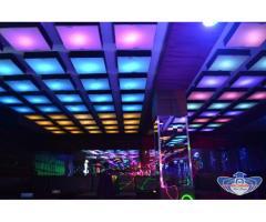 Tavan Lumini Club RGB by Predescu Rebel Design