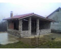 Teren intravilan, 4000mp + casa in rosu, Santaul-Mare
