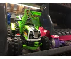 Excavatoare pentru copii electrice buldozere New