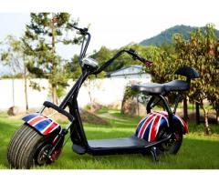 Scuter ELECTRIC Harley 1500W NOU Bluetooth - Far cu LED cu garantie