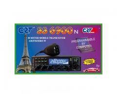 CRT SS 6900 N Blue Statie Radio CB Putere Reglabila 1W-40W