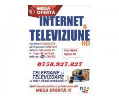televiziune si internet