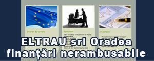 www.eltrau.ro Eltrau Oradea, oferă consultanță financiară completă în vederea obținerii de finanțări nerambusabile prin accesarea fondurilor structurale, proiecte de finantare din fonduri europene, proiecte, finanțări, fermă, vegetală, procesare, bovine, piscicolă, porcine, pui, pensiune, memorii, planuri, afaceri, cofinanțare, dosare
