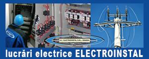 www.electroinstal-oradea.ro SC Electroinstal SRL, din Oradea, execută lucrări de instalații electrice, și lucrări energetice pentru instalații de joasă tensiune și de medie tensiune, este atestata ANRE